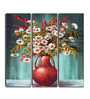 Hashtag Decor Bouquet of Flowers Engineered Wood 6 x 18 Inch Framed Art Panel