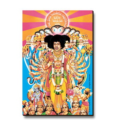 Bravado Jimi Hendrix Bold As Love Fridge Magnet