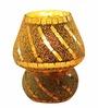 Brahmz G68 Yellow Glass Mosiac Table Lamp