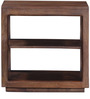 Lynden End Table in Provincial Teak Finish by Woodsworth