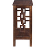 Stockton Console Table in Provincial Teak Finish by Woodsworth