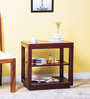 Lynden End table in Passion Mahogany Finish by Woodsworth