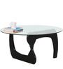 Boulder Solid Wood Coffee Table in Espresso Walnut Finish by Woodsworth