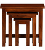 Oakville Set of Tables in Honey Oak Finish by Woodsworth