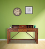 Bothell Study & Laptop Table in Honey Oak Finish by Woodsworth