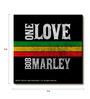 Bravado Multicolour Fibre Board Bob Marley One Love Fridge Magnet