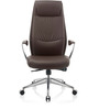 Bravia Executive Chair in Brown PU by Oblique