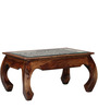 Opium Handcrafted Coffee Table in Provincial Teak Finish by Mudramark
