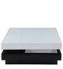 Brio Coffee Table in Black & White Finish by Royal Oak
