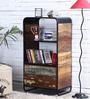 Trenton Book Shelf in Distress Natural Finish by Bohemiana