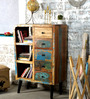 Omarion Chest of Drawers in Multi-Color Distress Finish by Bohemiana