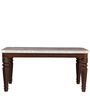 Bruce Marble Top Six Seater Dining Set in Beige & Black Colour by HomeTown