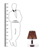 Brutha Table Lamp in Brown by Bohemiana