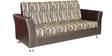 Eartigo Three Seater Sofa in Brown Colour by Crystal Furnitech