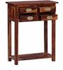 Tampa End Table in Honey Oak Finish by Woodsworth