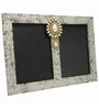 Butterfly Homes White Wooden 8.5 x 12 Inch Traditional Dual Single Photo Frame
