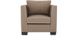 Carolina Sofa Set (3+2+1+1) Seater in Coffee Color by ARRA