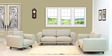 Catalunya Two Seater Sofa In Pale Earl Grey By CasaCraft