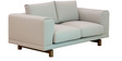 Catalunya Two Seater Sofa In Sandy Brown By CasaCraft