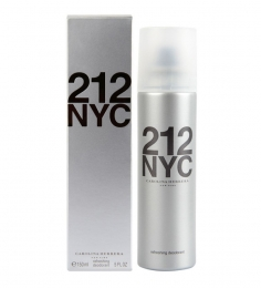Carolina Herrera 212 NYC Deodorant Spray for Men 150ml