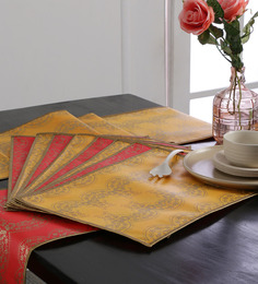 Cannigo Patricia Fibre Table Runner With Placemats - Set Of 10