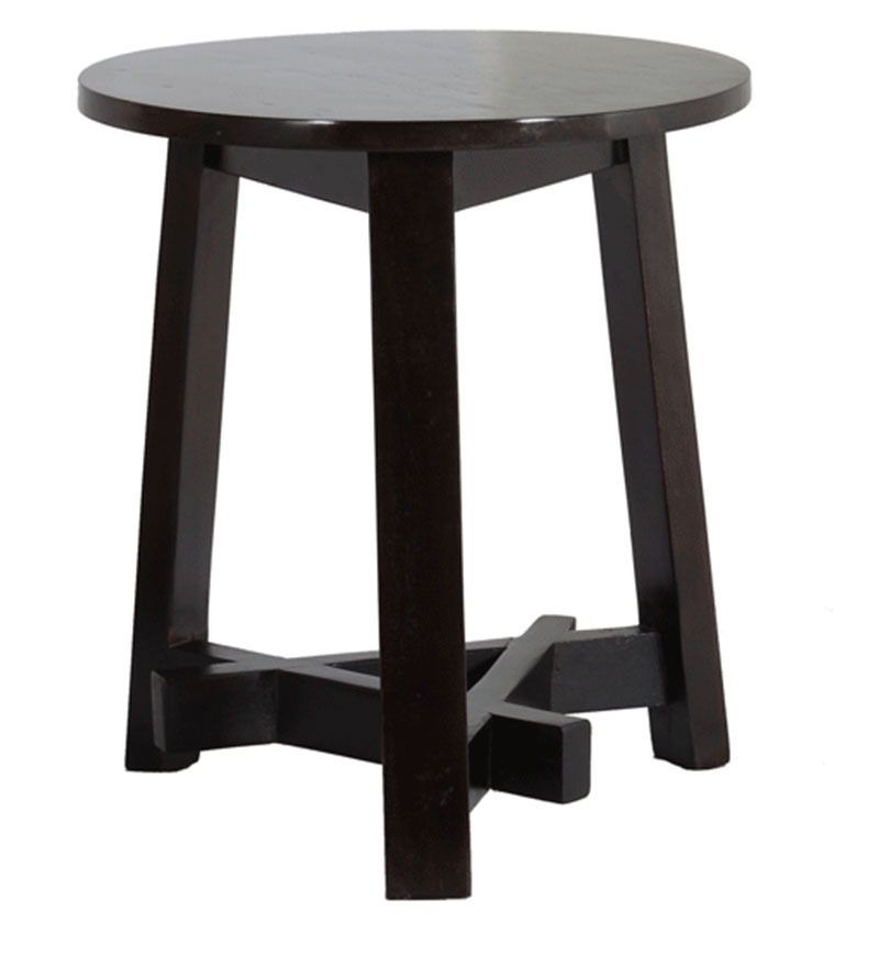 Cayenne classy round stool by mudra online stools for Affordable furniture 6496 redland