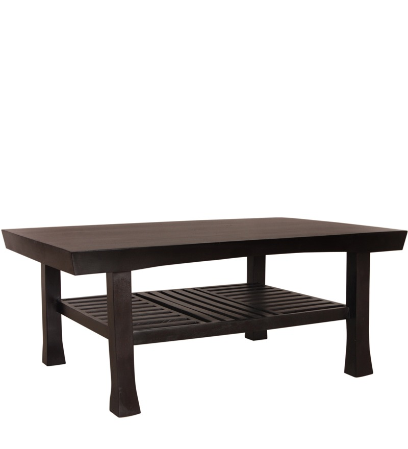 Cayenne Coffee Table With Slatted Shelf By Woodsworth By Mudra Online Contemporary Furniture