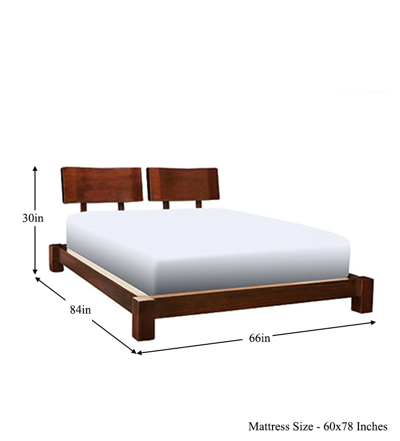 Cayenne Double Headboard Queen Size Bed By Mudramark Online Queen Sized Furniture
