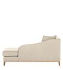 Cadley Lounger Sofa in Beige Colour by Madesos