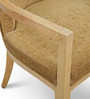 Accent Chair in Light Brown Colour by FurnitureTech