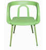Cafetaria Chair in Green Colour by Ventura