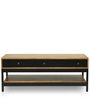 Cagli Coffee Table in Natural Finish by The ArmChair