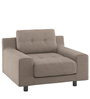 Calanna One Seater Sofa in Beige Colour by Madesos