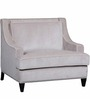 Chandler One Seater Sofa in Grey Colour by Woodsworth