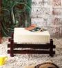 Toledo Solid Wood Stool in Passion Mahogany Finish by Woodsworth