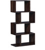 Waterford Zig Zag Display Unit in Provincial Teak Finish by Woodsworth