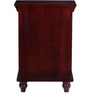 Coghill End Table in Passion Mahogany Finish by Amberville