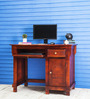 Dursley Study & Laptop Table in Honey Oak Finish by Amberville