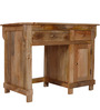 Dursley Study & Laptop Table in Natural Sheesham Finish by Amberville