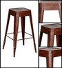 Erco Bar Stool in Brown Color by Bohemiana