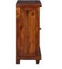 Rosholt Bar Cabinet in Honey Oak Finish by Woodsworth