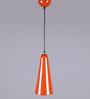 Orange Tree Orange Iron Pendant