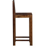 Amarillo Bar Chair in Provincial Teak Finish by Woodsworth