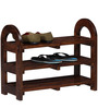 Omaha Open Shoe Rack In Provincial Teak Finish By Woodsworth