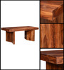 Medina Four Seater Dining Table in Provincial Teak Finish by Woodsworth