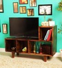 Milton Entertainment Unit in Provincial Teak Finish by Woodsworth