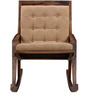 Toston Rocking Chair in Provincial Teak Finish by Woodsworth