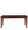 Morton Six Seater Dining Table In Honey Oak Finish by Woodsworth