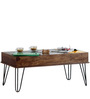 Geyer Rio Coffee Table in Provincial Teak Finish by Bohemiana