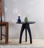 Memphis End Table in Espresso Walnut Finish by Woodsworth
